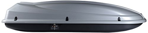 RAX K0382092 Dynamic 434 Box da Tetto, Grigio Chiaro Metallizzato, 430 Litri