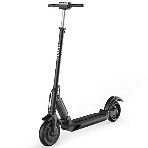 KUGOO S1 Monopattino Elettrico Pieghevole per Adulto, Scooter Elettrico Velocità Massima 30km/h,...