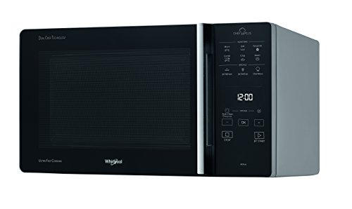 Whirlpool MCP 349 SL Forno a Microonde, 25 Litri, Argento