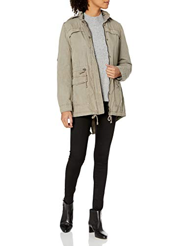 Levi's Women's Women's Cotton Lightweight Fishtail Anorak, Gry, XS