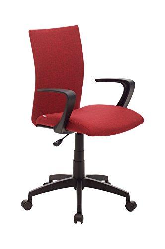 My_office Milano Poltrona da ufficio Rossa, rosso, poliuretano, ergonomica