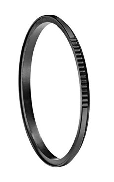 Manfrotto Xume - Adaptador de lente de liberación rápida, 77 mm, negro