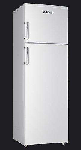 Frigorifero Doppia Porta SanGiorgio SD28SW 280 LT Bianco Alto 1,68 cm Classe A+
