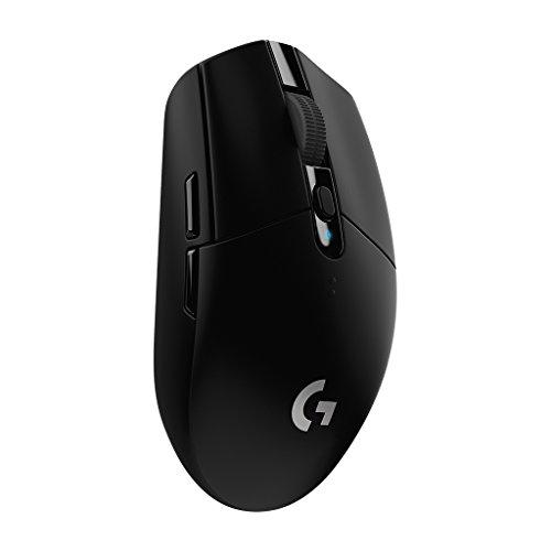 Logitech G305 Lightspeed Wireless Gaming Mouse - Black - 2.4GHZ/BT - N/A -...