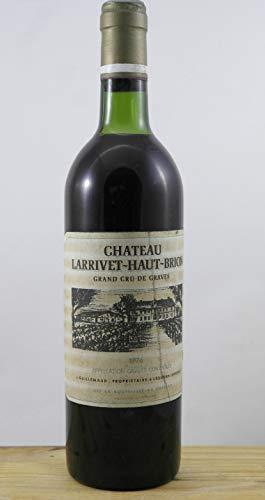 Vin 1976 Château Larrivet-Haut-Brion