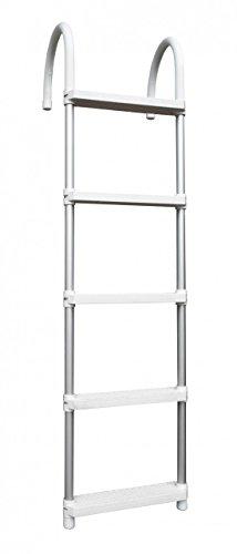 Navyline Aluminium Badeleiter zum Überhängen, Größe:5 Stufen