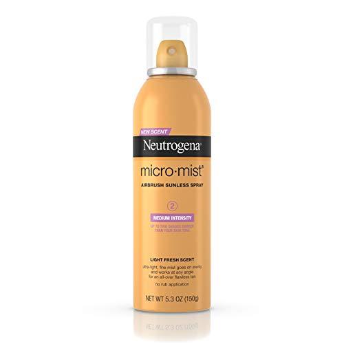 Neutrogena Micro-Mist Sunless Tanning Spray Medium - 5.3 Oz