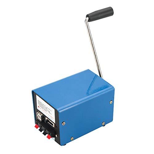 Blue-Yan Cargador de manivela del generador de Alta Potencia para la Emergencia de la computadora del teléfono móvil al Aire Libre Que Carga 20W / 3-15V con el Enchufe del USB