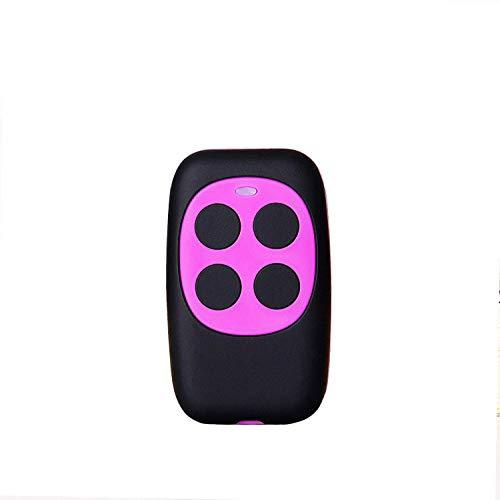 Mando De Garaje Compatible Universal Garage Door Cloning Control Remoto 280MHZ-868MHZ Copia BFT,FAAC,V2 Genius 4 Botones (Morado)