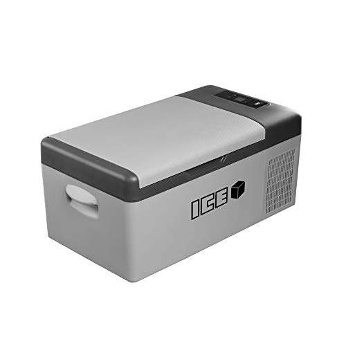 IceCube - Frigorifero Portatile per Auto, 15 Litri, Corrente Continua 12 V 24 V AC 230 V