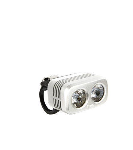 Knog Blinder Road 400LED Bianco Luce Anteriore per Bicicletta Luce Frontale Argento 2016
