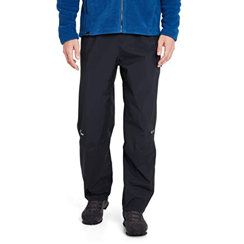 Berghaus, Pantaloni impermeabili in Gore-Tex da uomo, Nero, Medium/Regular