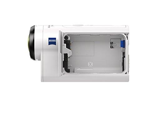 Sony FDR-X3000R + AKA-FGP1 Camera d'action ultra-stabilisée/4K | Travel Kit | Blanc 29