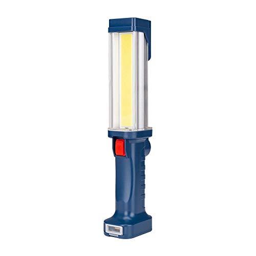 BEANCHEN Luce da lavoro a LED, illuminazione da carico USB Luce da lavoro a elevata luminosità con magnete Illuminazione da campeggio esterna multifunzione per trasporto quotidiano, speleologia, campe