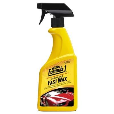 Kingsway - Formula1 High Performance Carnauba Car Fast Wax/Polish Spray for Cars and Bikes (473 ml)