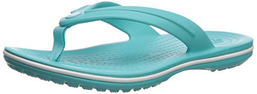 Crocs Crocband Flip GS, Infradito Unisex-Bambini, Blu (Pool 40M), 32/33 EU