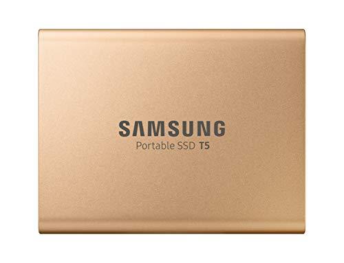 Samsung T5 MU-PA500G/EU SSD Portatile da 500 GB, USB 3.1 Type-C, Fino a 540 MB/s, Oro Rosa