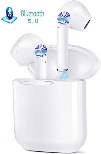 Auricolari Bluetooth 5.0 Cuffie Senza Fili IPX5 Impermeabile Wireless Cuffie Sport con Hi-Fi Deep...