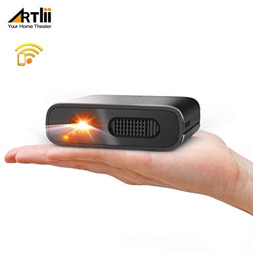 Proiettore Portatile WiFi - Artlii Mana Videoproiettore Portatile DLP Supporta Film 3D, Batteria...