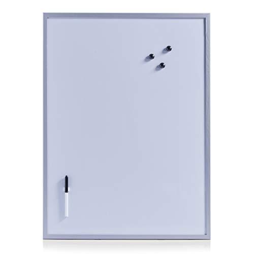 Zeller 11510 Lavagnetta magnetica, 60 x 80 cm, colore: Grigio