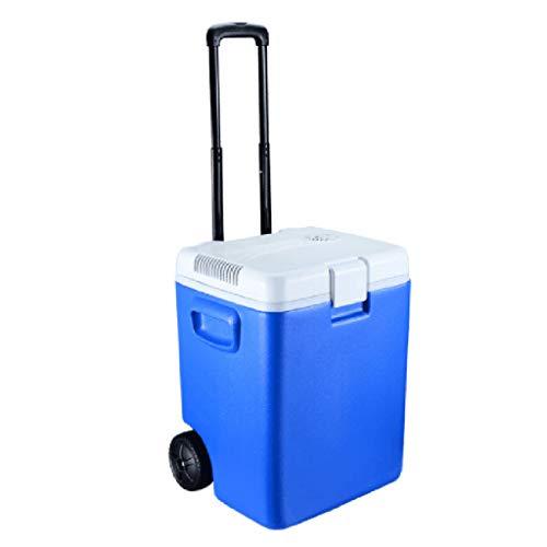 Frigoriferi da Viaggio elettrici e riscaldatori, Frigo Portatile per Auto Friggitrice con Cavi di...