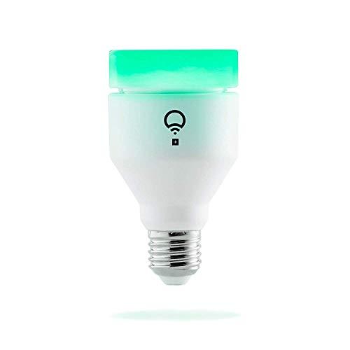 LIFX + (E27) Lampadina a LED Wi-Fi Smart con infrarossi per la visione notturna, regolabile, multicolor, dimmerabile, non richiede un hub, funziona con Alexa, Apple HomeKit e Google Assistant