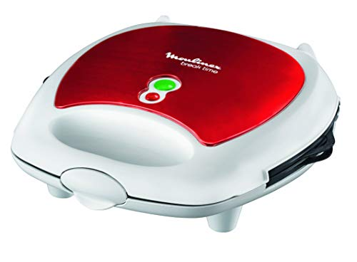 Moulinex SW6125 Red Ruby Piastra per panini 3 in 1