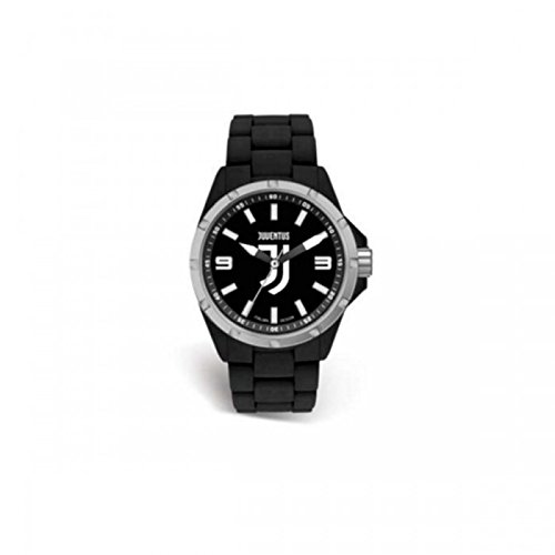 Orologio ufficiale Juventus F.C. Solo tempo in silicone nero JN416XN2