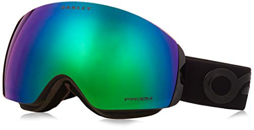 Oakley Flight Deck XM 706443 0 Occhiali Sportivi, Nero (Factory Pilot Blackout/Prizmjadeiridium), 99...