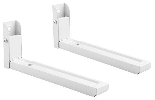 RICOO Universale staffa di supporto da parete per forno a microonde allungabile WM0106 mobili da...