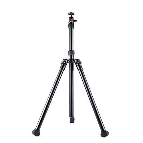 """Nebula Portable Projector Stand, Tripod Floor Stand for Projector/Camera/DVD Player, Lightweight Projector Holder with Adjustable Height (26""""~57"""") and 360ø Swivel Ball Head"""