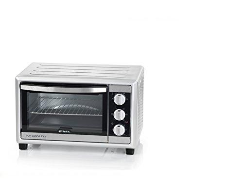 Ariete 984 Bon Cuisine 250 - Forno elettrico ventilato, 25 Litri, 1500W, 6 posizioni cottura, Timer...