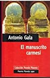 EL MANUSCRITO CARMESI