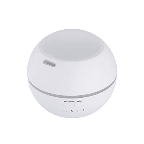 Road&Cool Luftbefeuchter Projektions-Aromatherapie-Maschine Duftöl-Diffusor Zuhause Erleuchtung Nachtlicht Luftreinigungsapparat (12 × 12 × 11 cm)