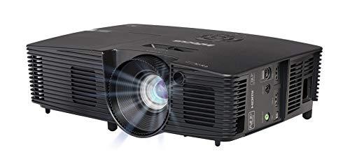 InFocus IN119HDXA 16:9 Full HD 3D DLP-Projektor Beamer (1080p, 1.3X Optischer Zoom, 3600 ANSI Lumen, 28000:1 Kontrast, 2X HDMI BrilliantColor) Schwarz