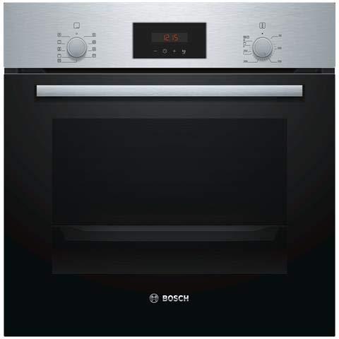 Bosch - Forno Elettrico da Incasso Serie 2 HBF173BS0 Capacità 63 L Multifunzione Ventilato Colore...