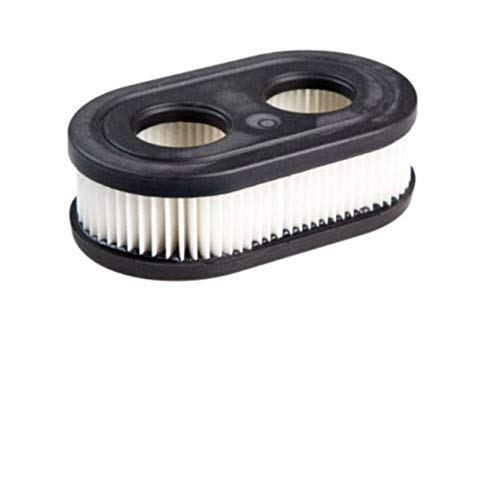 MachinYeser Filtro de Aire de cortacésped para Briggs & Stratton 798339 798452 593260 550E 550EX Negro y Blanco