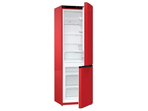 Gorenje nrk6192crd4da frigo/congelatore combinazione, Rosso