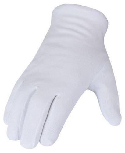 SBS Guanti di cotone -12 pezzo- bianco Taglia 7