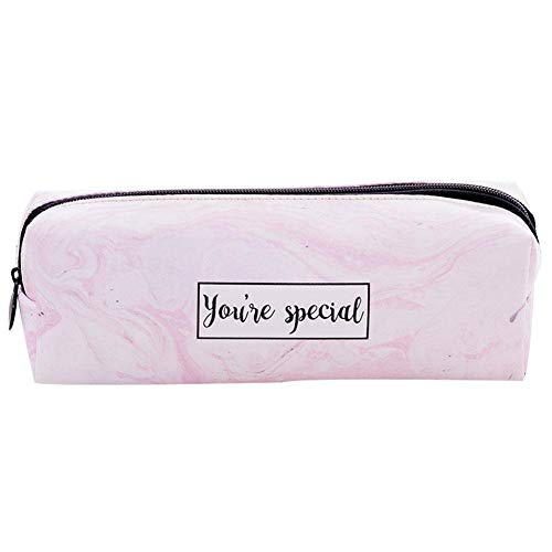 Betrothales Pencil Case Marble Pencil Bag Casual Chic Penna Bag Make Up Pouch Portafoglio Large...