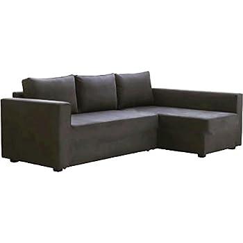 Le Gris Foncé Manstad Housse De Remplacement Est Conçu Sur Mesure Pour Ikea Manstad Canapé Lit Ou Ou Profilé Dangle Slipcover