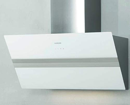 Cappa da cucina, Aspirante, Installazione a Parete, da 80 cm, colore Bianco BOLD