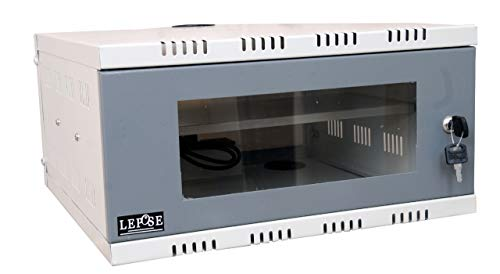 Lepose Metal CCTV/DVR/NCR Rack with 3 Power Socket and for Fitting Accessories 3U+... (3U)