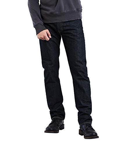 Levi's Herren Straight Leg Jeans, Einfarbig Gr. 38W x 32L, Clean Rigid