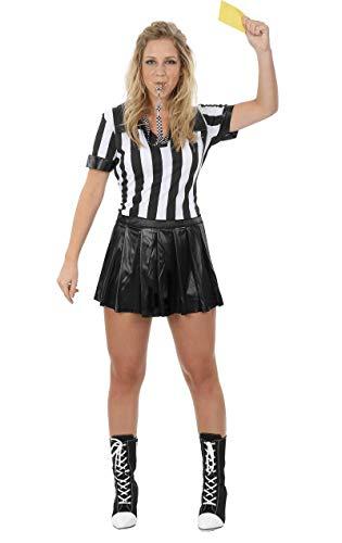 Disfraz de mujer árbitro - S
