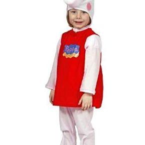comogiochi - Disfraz de Peppa Pig Original de 3 a 4 años para niño