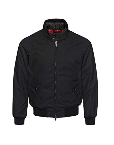 Baracuta G9 Winter Wax Jacket Medium Black