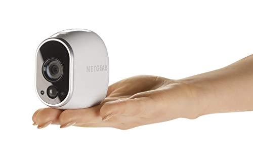 316yVVloRcL [Bon Arlo !  Arlo - Smart Caméra de surveillance - Pack de 4 - Kit de Surveillance 100% sans Fil, HD, Vision Nocturne, Etanches ...