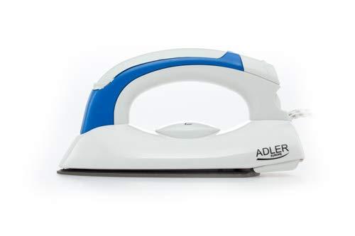 Adler AD 5015-Piastra da viaggio, colore: bianco/blu