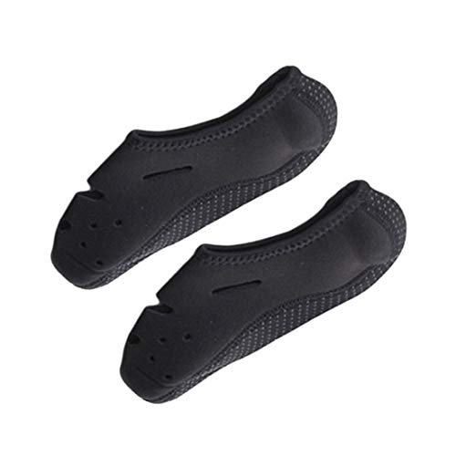 Aeoss Unisex Barefoot Shoes For Beach Swim Yoga Exercise (Small UK 35-36,Black)